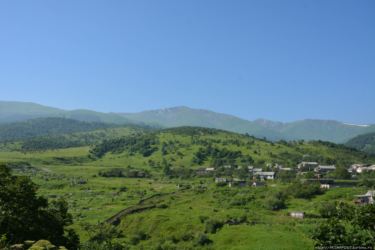Лермонтово и Фиолетово — деревни русских молокан в Армении