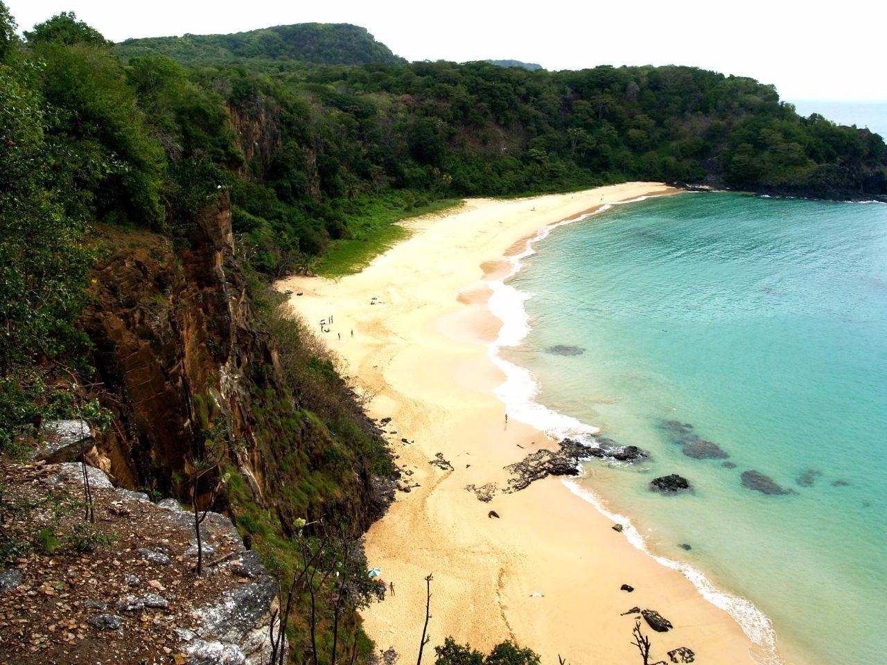 Пляж бразильской мечты