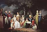 Фото из интернета. Семейный портрет Павла Петровича и Марии Федоровны.