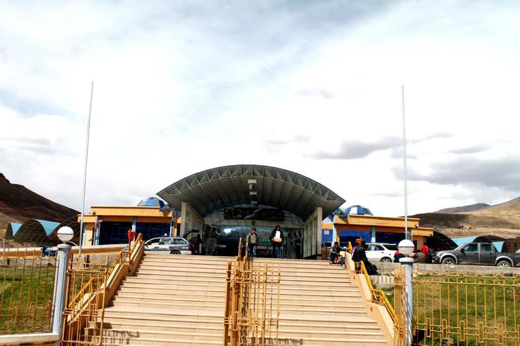 главный вход автовокзала
