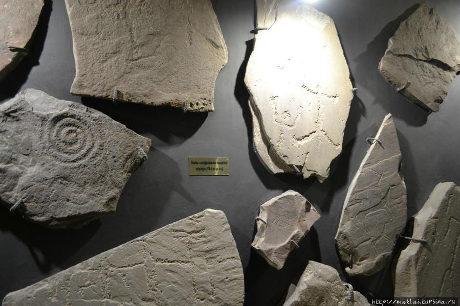 Плиты с изображениями Тагарской культуры (8-2 вв. до н.э.)