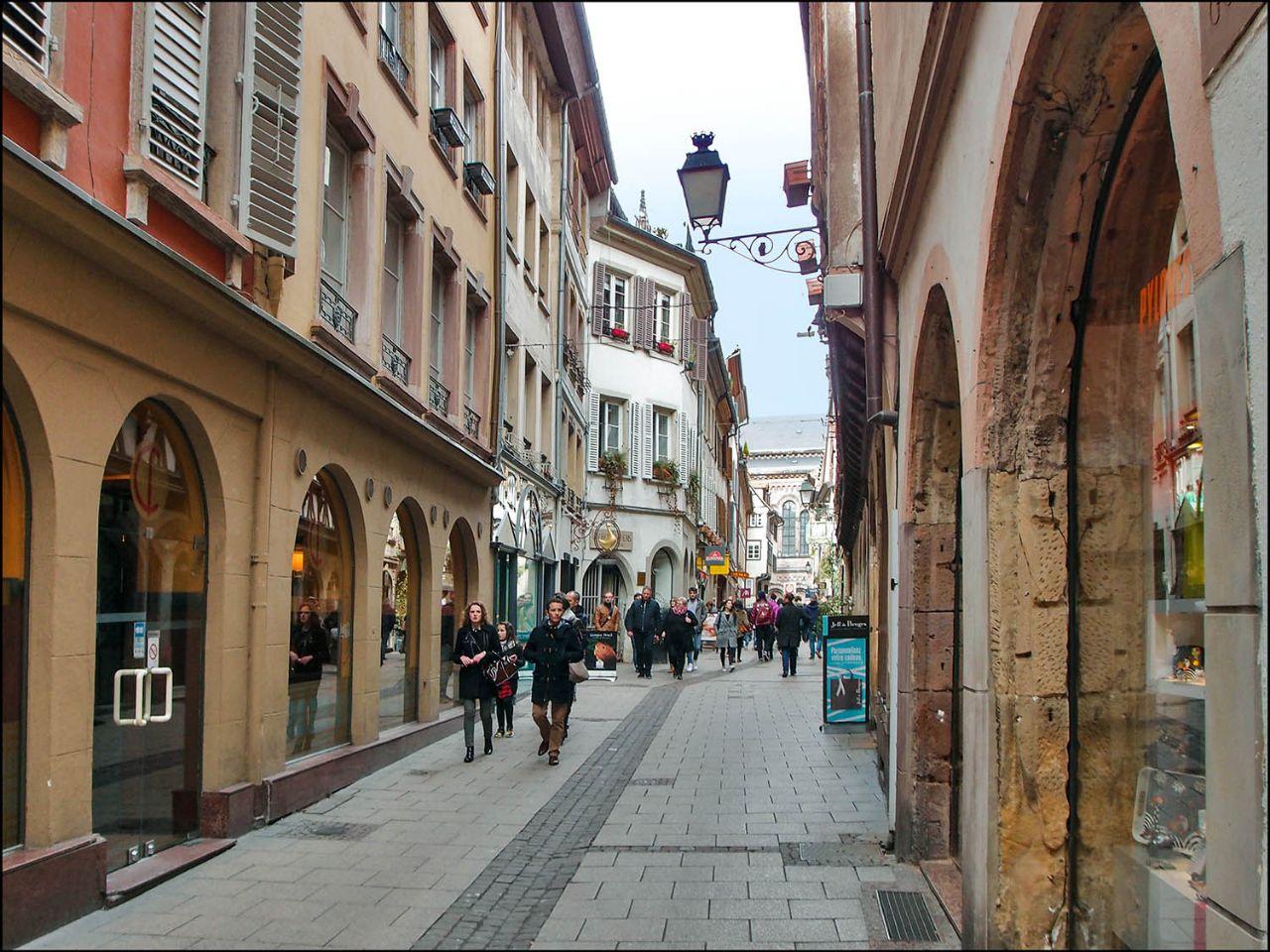 Фазаний мост, Бельевая веревка и многое ещё... Страсбург, Франция