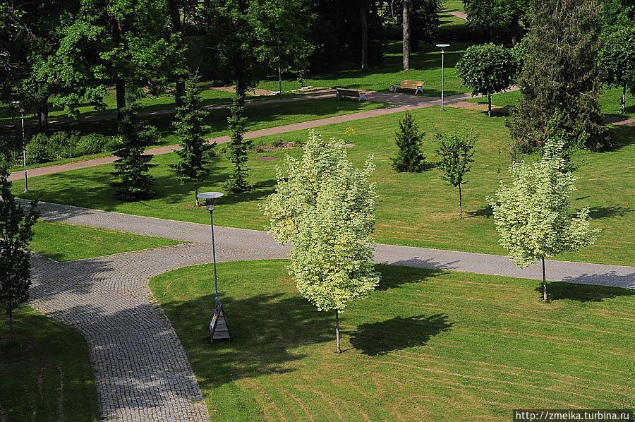 Виды на парк