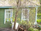 Единственные красивые окна, которые довелось увидеть в Усть-Куте...