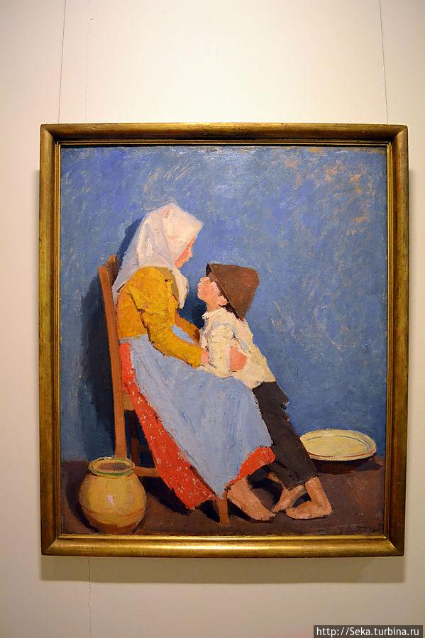 Адольф Феньеш. Брат и сестра. Братская любовь, 1906
