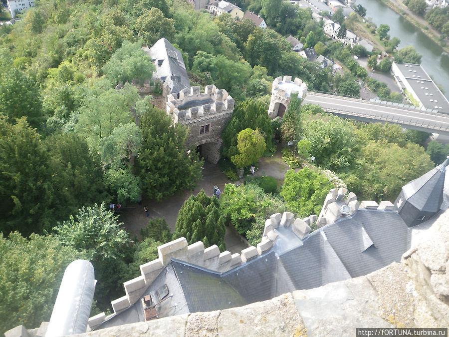 Вид с самой высокой башни
