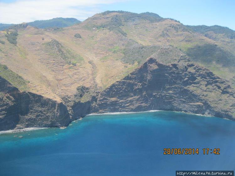 Мадейра с высоты птичьего
