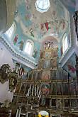 Церковь Похвалы Пресвятой Богородицы, алтарь и иконостас