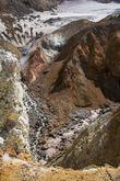 Из ледников текут реки, из фумарол вылезает пар! Очень живенькое место!