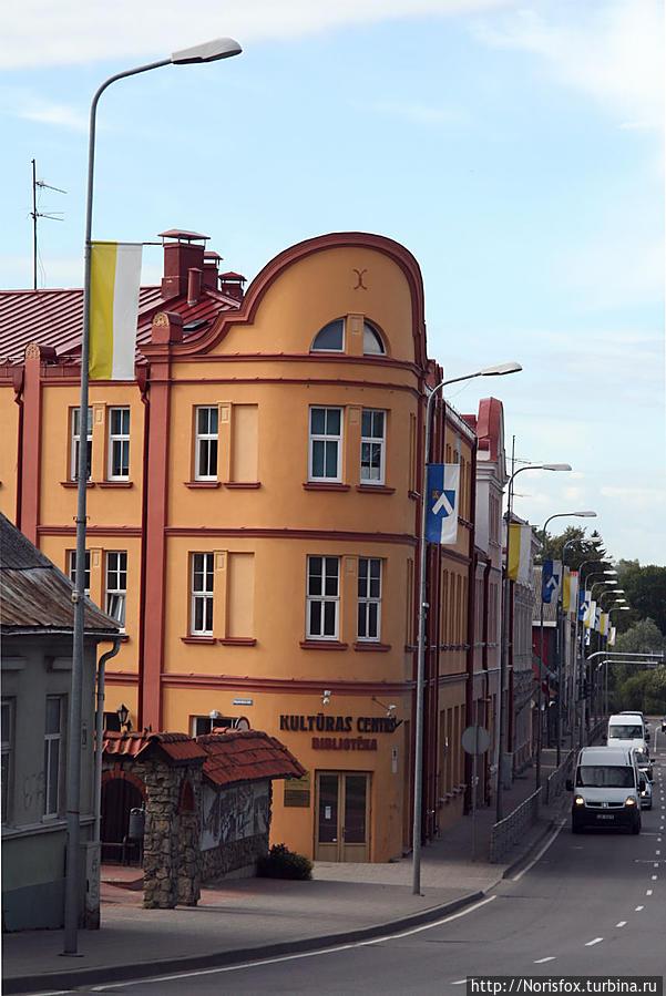 Вот такая она — тихая, провинциальная Бауска Бауска, Латвия