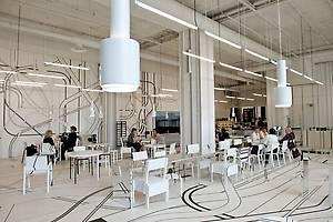 дизайнерское кафе в центре Logomo
