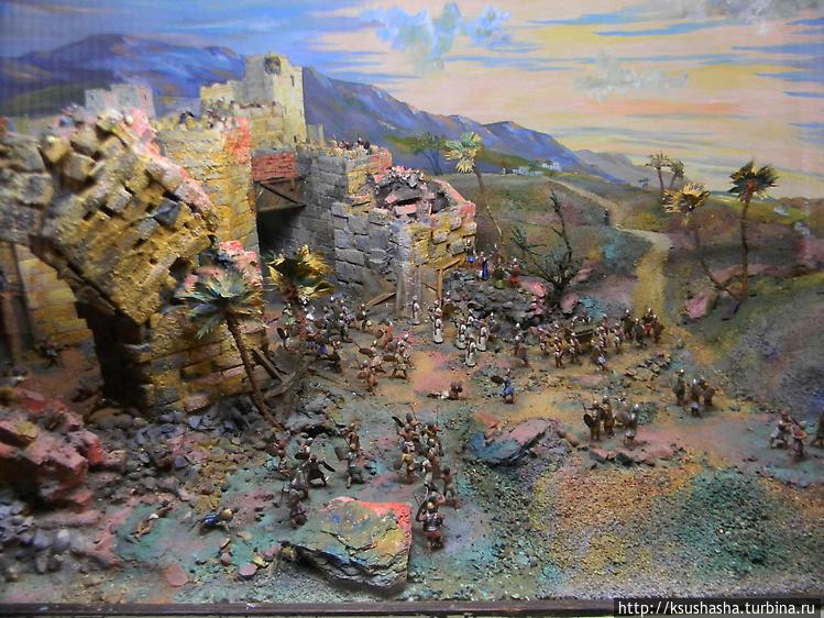 макет — разрушение Храма