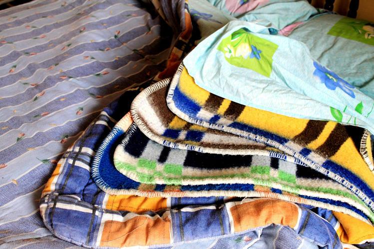 одеяла тут вовсе не лишни