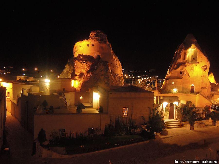 Каппадокийские отели-пещеры