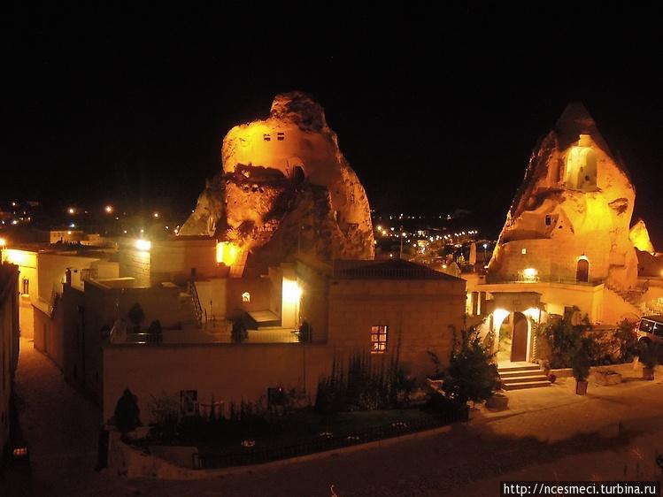 Каппадокийские отели-пеще
