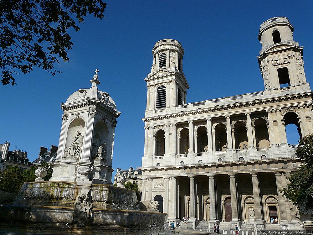 Церковь Сен-Сюльпис. Фото