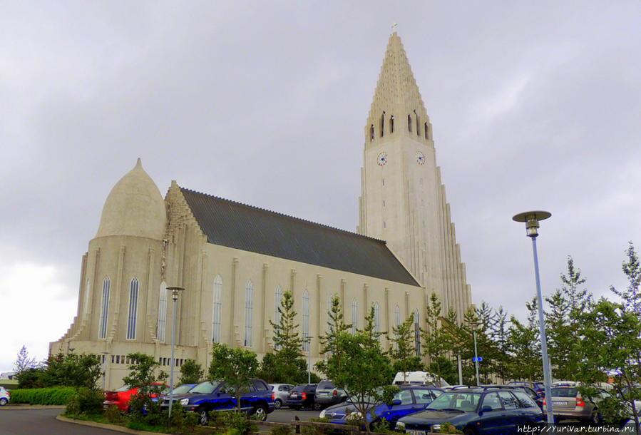 Лютеранская церковь Хатльгримскиркья Рейкьявик, Исландия