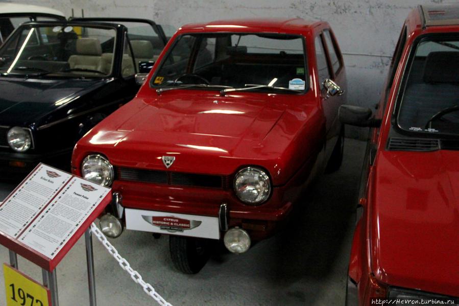 Релиант Робин. Трёхколесный автомобиль, производимый в Великобритании. Этим автомобилем можно было управлять, имея права на мотоцикл, так же в Великобритании она облагалась пониженным налогом. Машину выпускали с 1873 года по 1981 год. Автомобиль так же производили в Индии и Греции.