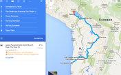 Весь автомобильный маршрут по Боливии и части Перу