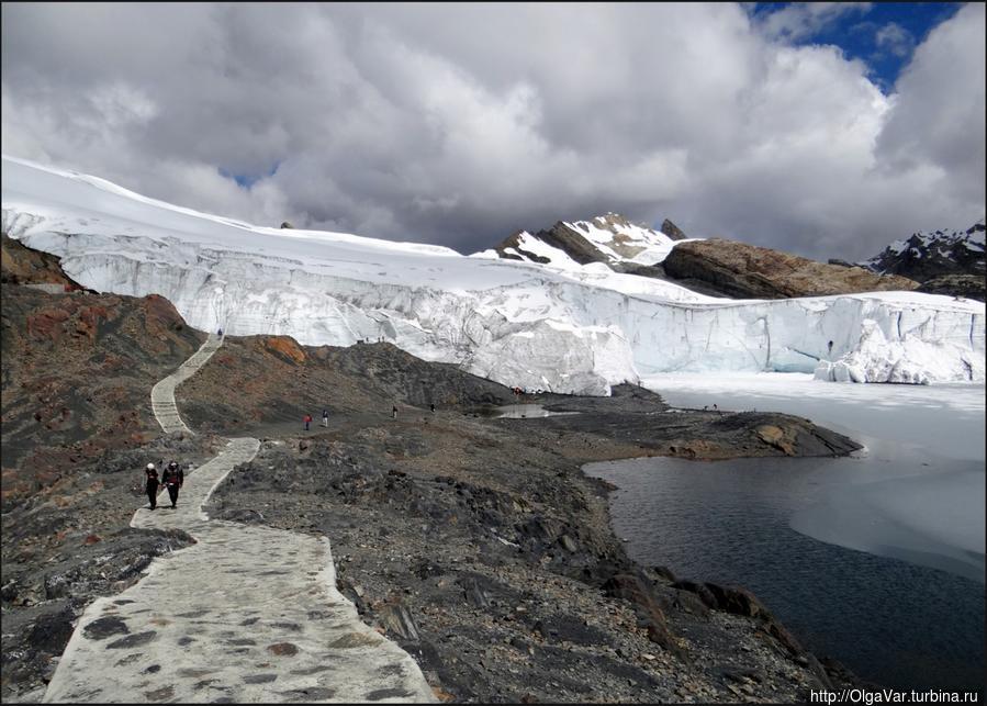Ледник Пасторури Уарас, Перу