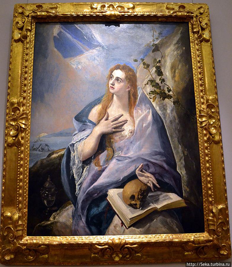 Эль Греко. Кающаяся Мария Магдалина.