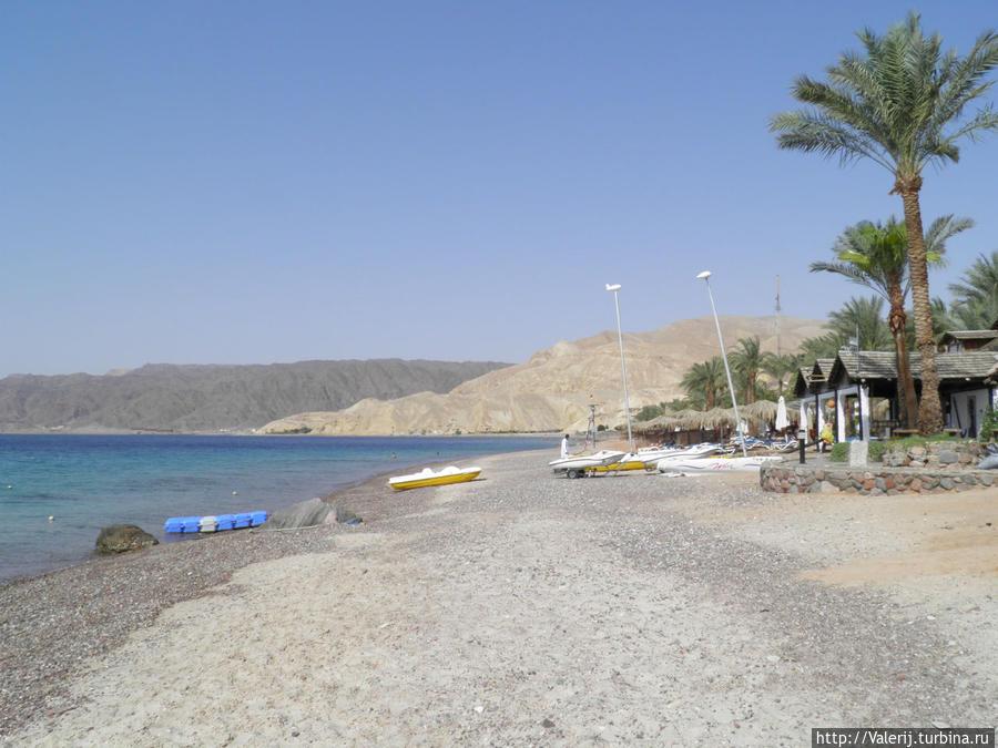 Основной пляж отеля