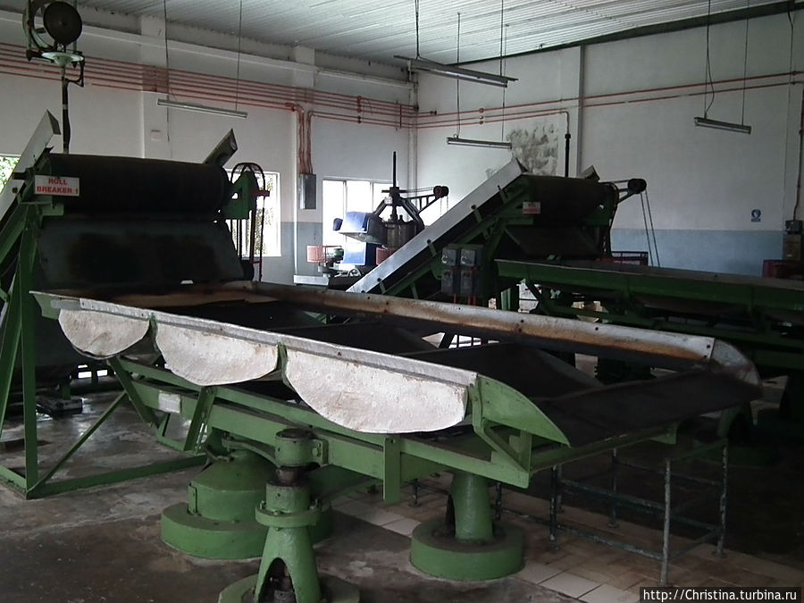 Оборудование фабрики.