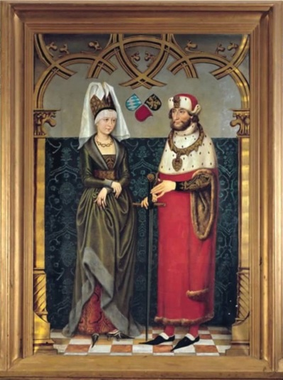 Людвиг II Строгий  (1229 — 1294)  , герцог баварский,  с супругой Марией Брабантской (1226 -1256). Foto Internet