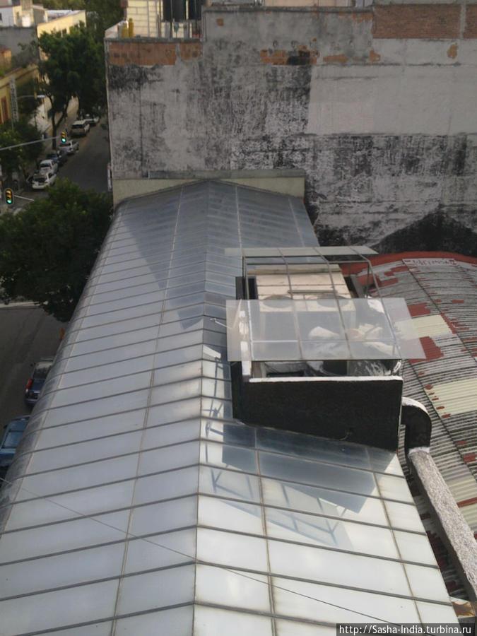 вид с окна Massiosare El Hostal