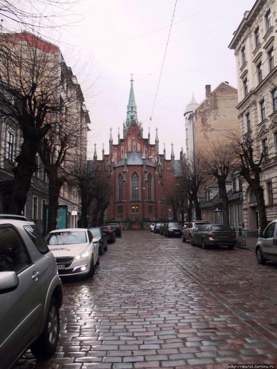 Кирха св.Гертруды (1864-1866). Рига, Латвия