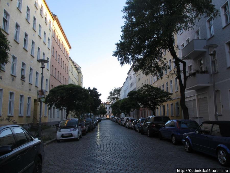 Улица, на которой находится отель