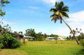 Главная площадь в деревне Муайра