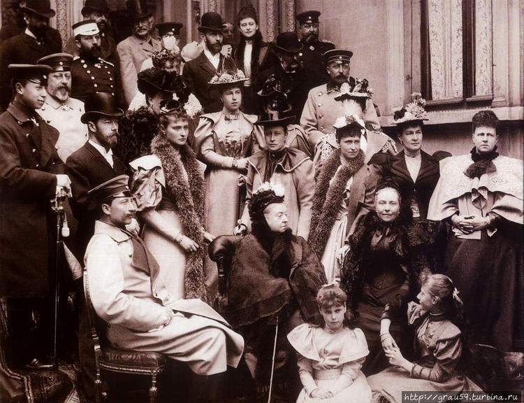 В Кобурге в апреле 1894 г