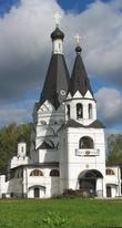 Шатровая церковь Богоявления была построена в селе Красное-на-Волге в 1592 году на средства дяди царя Бориса Фёдоровича Годунова. Церковь много раз перестраивали и в первозданном виде остался только шатер.