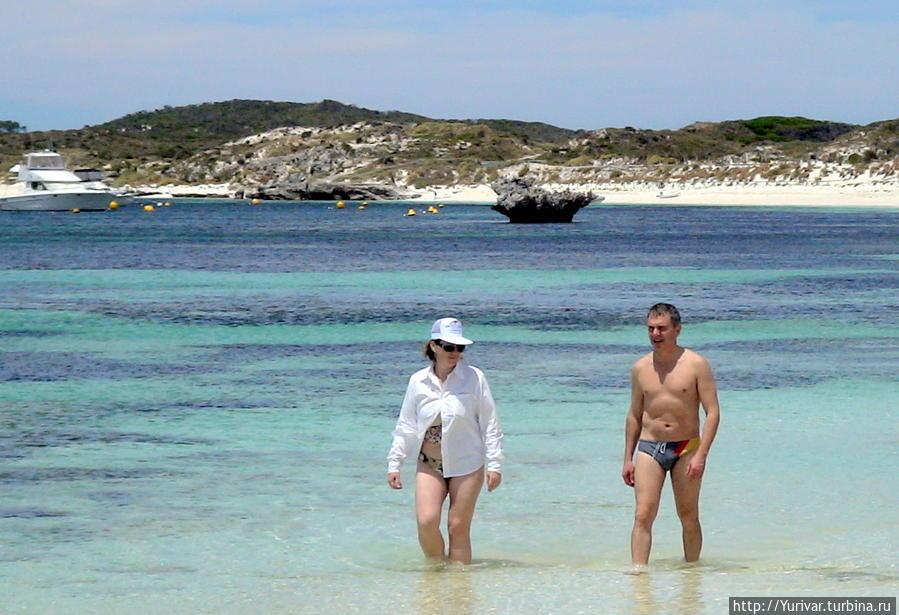 На северном побережье острова — лучшие места для купания и дайвинга Остров Роттнест, Австралия