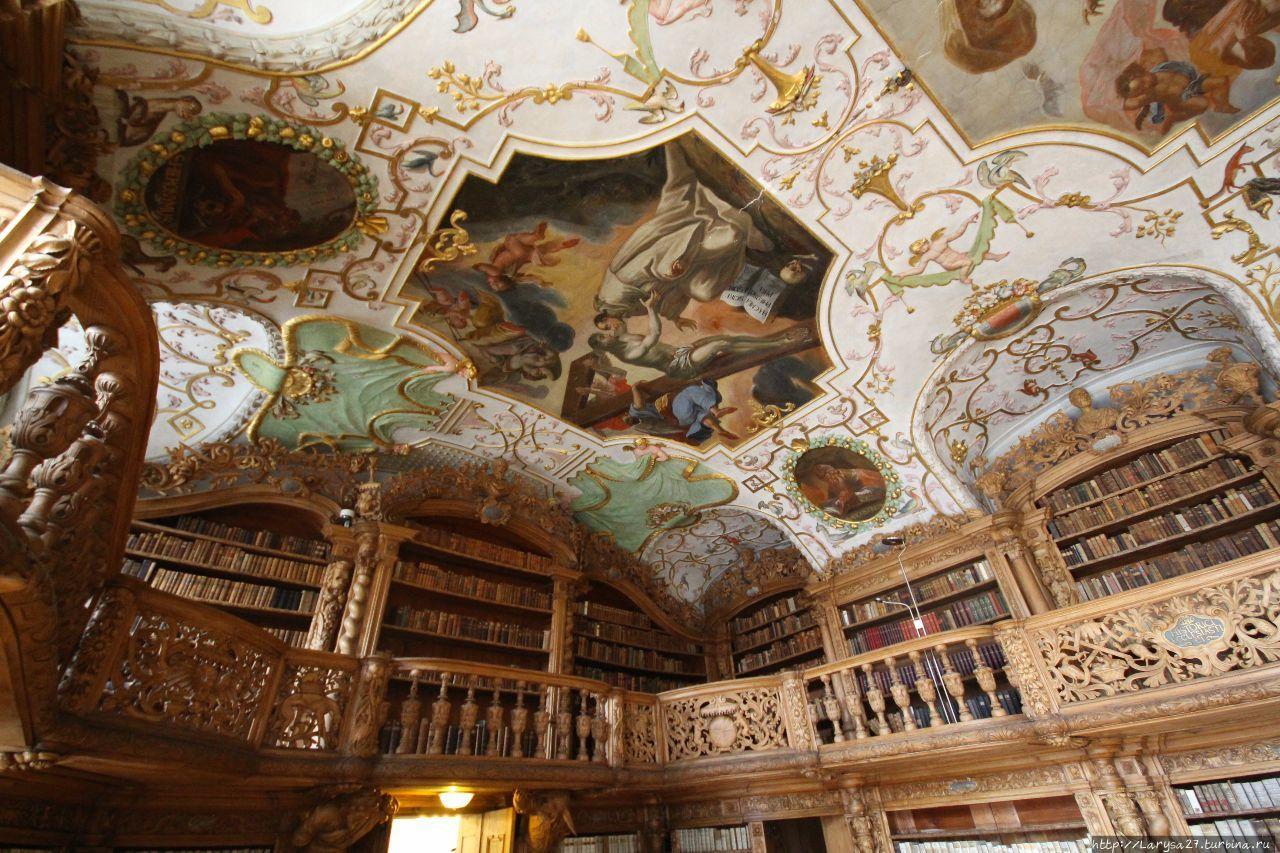 Библиотека монастыря Вальдзассен Вальдзассен, Германия