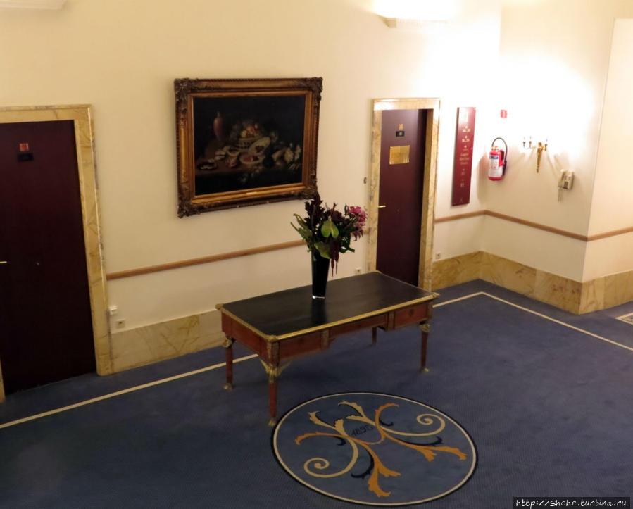 коридор возле наших номеров