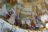 Роспись потолка центрального зала