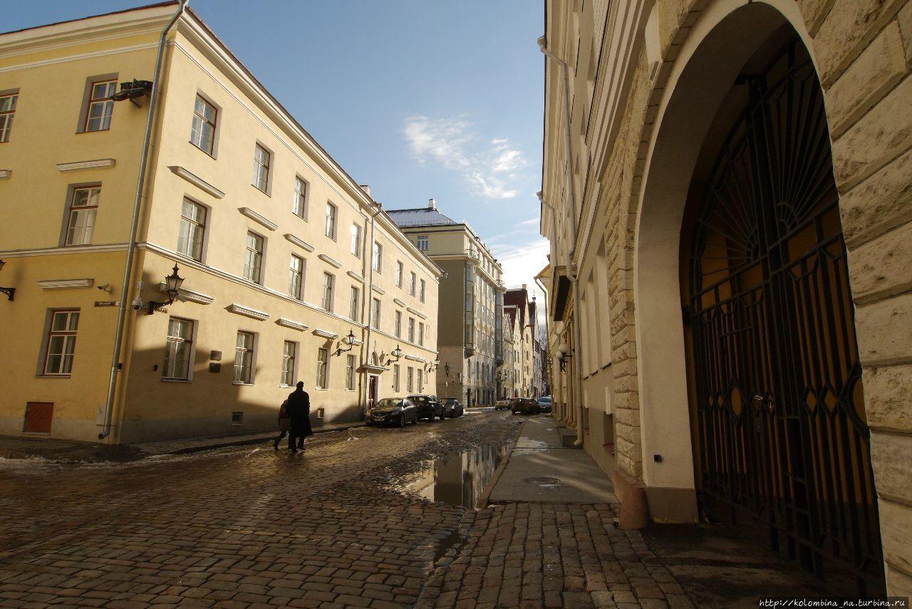 Как мы в Таллине мартовское солнышко ловили Таллин, Эстония
