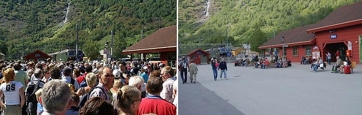 Вокзал Флама до и после о