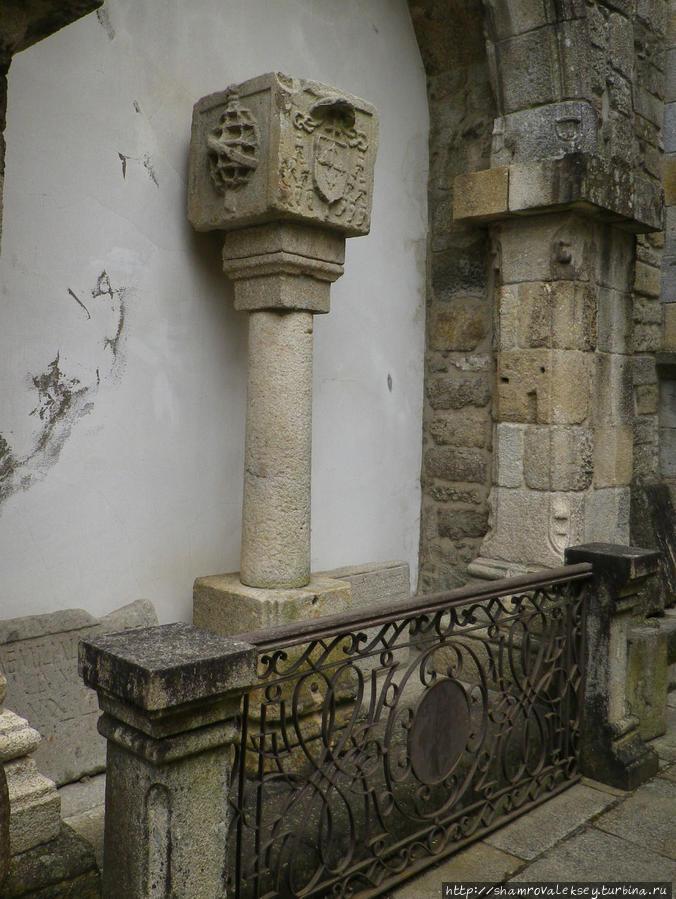Позорный столб города Браги