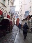 Розена — самая узкая улица Риги, её ширина чуть больше 1 метра.