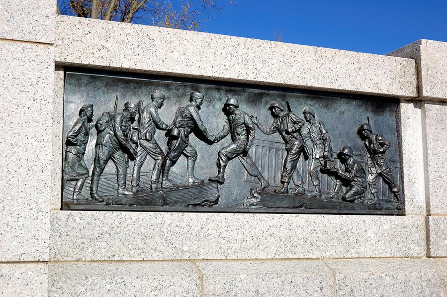 Мемориал Второй Мировой. Встреча на Эльбе