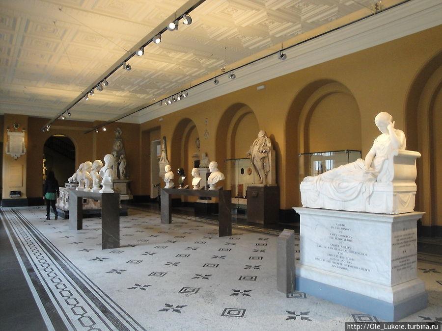 Зал садовой скульптуры, 15-18 вв., Британия