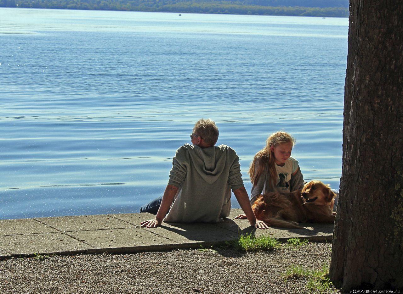 Хершинг на Аммер-озере, прогулка наоборот