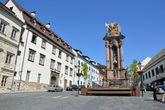площадь св. Троицы- старейшая в городе