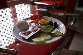 Стандартный турецкий   завтрак в гостинице.