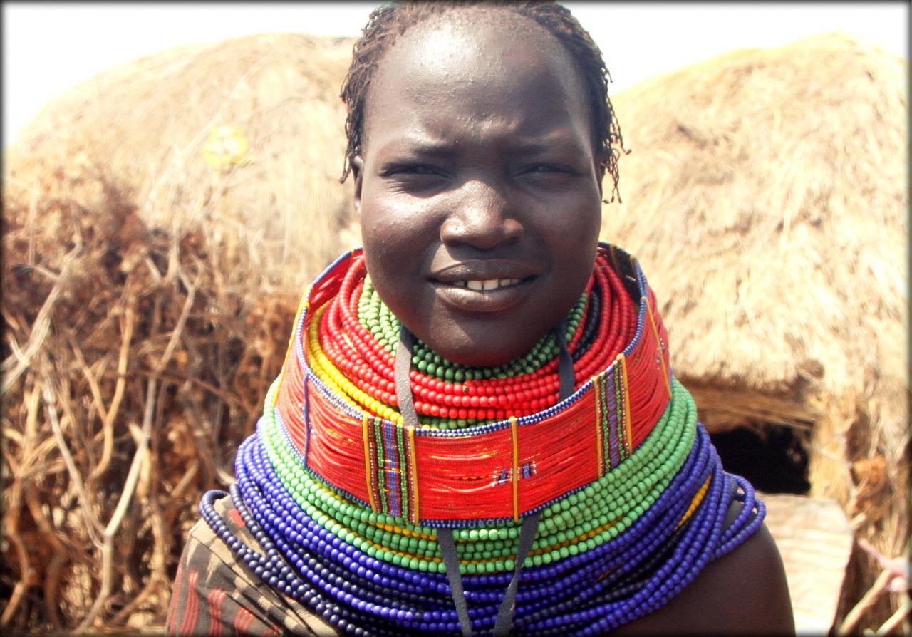 Южная Эфиопия — деревня племени Ньянгатом Регион народов и народностей юга, Эфиопия