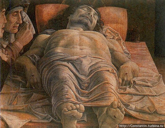 Мантенья — Мертвый Христос