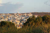 Сития ранним утром: вид из Dimitra Apartments